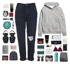 """""""we'll ride the coattails to the finish line"""" by burning-citylights ❤ liked on Polyvore featuring H&M, Topshop, Serge Normant, TokyoMilk, Shinola, Dot & Bo, NARS Cosmetics, Brinkhaus, adidas Originals and e.l.f."""