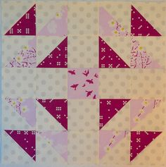 Odd Scraps block (I bet it has a better name from somewhere) by shecanquilt, via Flickr