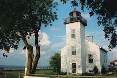 Sand Point (Escanaba) Lighthouse, Michigan, USA