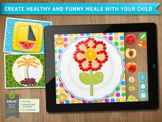 Fun play with food app for #feeding therapy