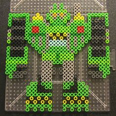 Boulder - Transformers Rescue Bots perler beads by Flood7585