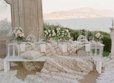 Did you know that the neutral-toned fringe blankets with the silvery sequins are Moroccan wedding blankets? Otherwise known as handira,… Beach Wedding Reception, Beach Wedding Flowers, Bridal Flowers, Wedding Tables, Wedding Venues, Wedding Ideas, Taupe Wedding, Green Wedding Shoes, Moroccan Wedding Blanket