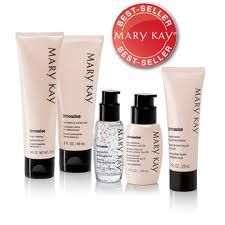 The Miracle Set® includes: • TimeWise® 3-In-1 Cleanser, 4.5 oz. net wt. • TimeWise® Age-Fighting Moisturizer, 3 fl. oz. • TimeWise® Day Solution Sunscreen Broad Spectrum SPF 35*, 1 fl. oz. • TimeWise® Night Solution, 1 fl. oz. Mary Kay Independent Beauty Consultant www.marykay.com/lhoskins2 Call or pm me for more details 919-842-8178 #MaryKay #BestSellers