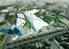 Zaha Hadid Architects was announced as architects of the new Cairo Expo City. They will be designing Cairo Expo City together with global multi-disciplinary engineering consultancy Buro Happold.