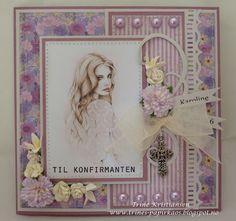 Trines-papirkaos Frame, Cards, Home Decor, Picture Frame, Decoration Home, Room Decor, Maps, Frames, Home Interior Design