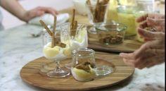 di Stasio - Verrines à la crème de clémentines Quebec, Creme, Fruit, Christmas Recipes, Desserts, Nouvel An, Puddings, Food, Kitchens