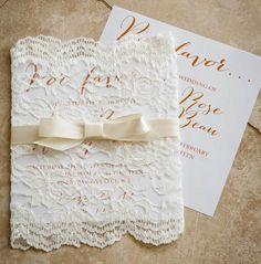 Einladungskarte Romea - Einladungskarten - Hochzeitskarten