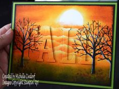 Sheltering Fall Trees – Stampin' Up! Card