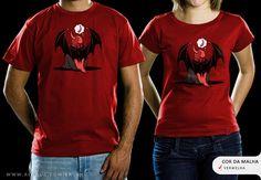 R$49.00 Catálogo - Camiseta Desejo - Camisetas Red Bug