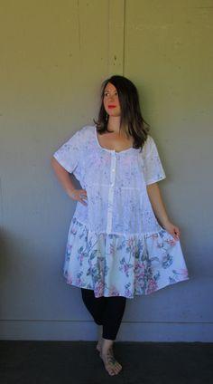 2 x 3 X plus de la taille Upcycled vêtements par lillienoradrygoods