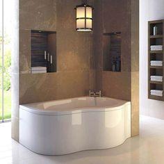 Ultra Estuary Eternalite Corner Shower Bath (Right Hand) - BES002
