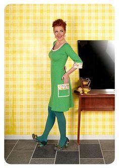 Margot by MWM . Mod Fashion, Happy People, Dress With Bow, Danish Design, Get Dressed, Dressmaking, Designer Dresses, High Neck Dress, Summer Dresses