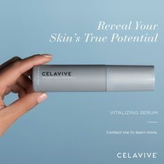 It's never too late to reveal your skin's true potential. Celavive Vitalizing Serum uses an age-defying formulation of peptide and botanicals to help you achieve youthful and healthy-looking skin. Combination Skin, Skin Care Regimen, Weight Management, Glowing Skin, Natural Skin, Healthy Skin, Your Skin, Serum, Nutrition