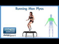 ▶ JumpSport Fitness Trampoline Workouts - Running Man Plyos - YouTube