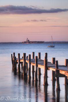Players Beach (Binstead) by Stuart Shore, via Flickr