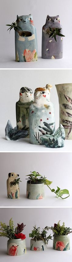 Ceramics by Elise Lefebvre / on the Blog!