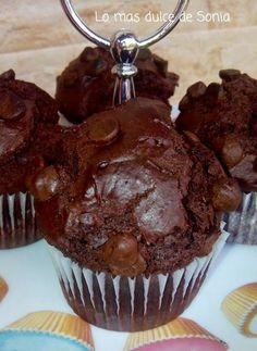 Lo más dulce de Sonia: Muffins de chocolate