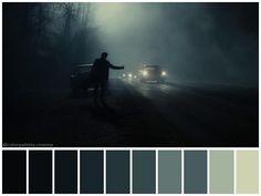 """Inside Llewyn Davis"" (2013) •Directed by Joel and Ethan Coen •Cinematography: Bruno Delbonnel •Production Design: Jess Gonchor •Colorist: Peter Doyle"