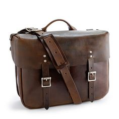 Wallace & Barnes leather Carrier satchel
