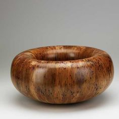 Lot: 980: HAP SAKWA; Turned wood bowl, Lot Number: 0980, Starting Bid: $500, Auctioneer: Rago Arts and Auction Center, Auction: Rago's Mid 20th-21st Century / Modern Auction, Date: February 26th, 2012 EST
