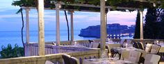 Dine on your very own terrace at Villa Orsula   http://www.adriaticluxuryhotels.com/