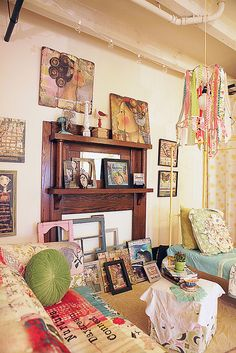 Studio! Photo by Tiffany Kirchner-Dixon by kelly rae roberts, via Flickr