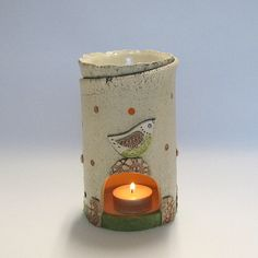 candle oil burner - http://www.aroma-works.com/
