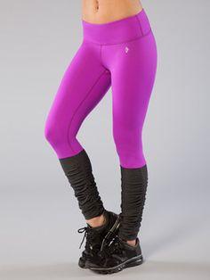 She's a Maniac Legging in Purple