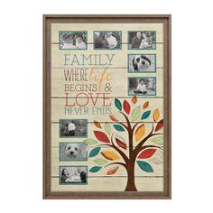 Family Tree 8-Opening Collage Frame | Kirklands