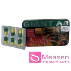 Giant A8 male sexual supplement is ready to healthy food, especially made from aweto Tibet, yak penis, saffron, etc. It has been proved has great effect on getting rid of physical fatigue and improve body immunity, and even help improve your sex life. Giant A8 is the highly quality sexual product for adults in the world! It is a product of health and intend to increase the duration of the male reproductive system.