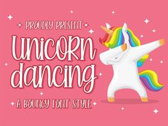 Unicorn Dancing is a fun, bouncy handwritten font bursting with handwritten charm and personality! It is a perfect choice for crafters with cutting machines, as it is ultra smooth for optimal cutting performance. Handwritten Fonts, All Fonts, Calligraphy Fonts, Script Fonts, Modern Calligraphy, Modern Font, Font Design, Graphic Design, Best Free Fonts