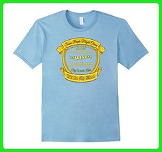 Mens Vintage Collectors Fan of Wine T-shirt Medium Baby Blue - Food and drink shirts (*Amazon Partner-Link)