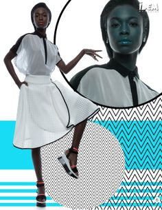 #IDEMMagazine @idemagazine Black and White - #JanuaryIDEM! #Exclusive #Editorial #Cover #Tout #BrasilTem! by Photography: #JhonatanChicaroni - Stilists: #DiogoBrasiliano Tout - Agência #Tout - #IsabellaEstevez - Hair & Makeup: #EduardoHyde - Model: #SamiraCarvalho and #Graphicdesign by ÍDEM Mag @Kenny Milano