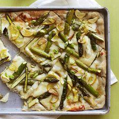 Garlicky Asparagus F