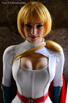 Quality Cosplay Thursday Power Girl - Enji Night
