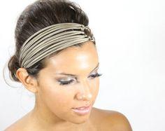 HEADBANDS FOR WOMEN   champagne headband, silk headband, headbands for women, hair band