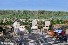 photocall_alquiler_lastressillas_barraca Outdoor Furniture Sets, Outdoor Decor, Wedding Planner, Home Decor, Sheds, Furniture, Style, Wedding Planer, Decoration Home