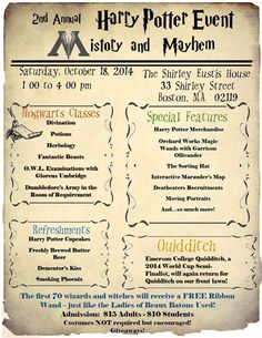 Don't forget! The Harry Potter Event at The Shirley-Eustis House is this Saturday!!!! #Boston #Massachusetts #Potterhead #HarryPotter #Hogwarts #Halloween #Butterbeer #wizard #witch #potions #divination #DumbledoresArmy #Quidditch #Herbology #OWLS