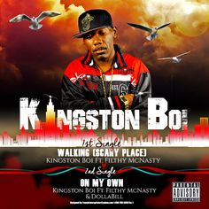"""Kingston Boi's Single """"Scary Place (Walking) makes it to the Trend City Hall of Fame, read more at http://www.trendcityradio.com/music-reviews/2016/9/6/scary-place-walking #music #entertainment"""