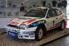 Toyota Corolla WRC - Toyota Motorsport visit
