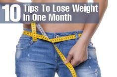 Lose Weight in a Month