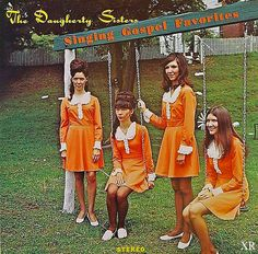 Album Cover - Swinging with Jesus by The Daugherty Sisters - Parody by Dean Hostager - awkward bad fun funny humor humorous picture photo parody old vintage comedy Greatest Album Covers, Cool Album Covers, Music Album Covers, Music Albums, Cover Art, Lp Cover, Bad Album, Easy Listening, Vinyl Cd