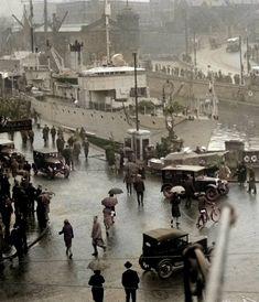 Bristol 1933. Old Pictures, Old Photos, Vintage Photos, Bristol England, Bristol Uk, Bristol City Centre, Bristol Channel, Hill Station, Cary Grant