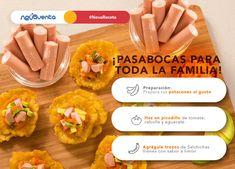 Prepara unos pasabocas deliciosos para toda tu familia y sorpréndelos con sencilla receta.