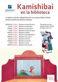 Kamishibai en la Red de Bibliotecas de Oviedo