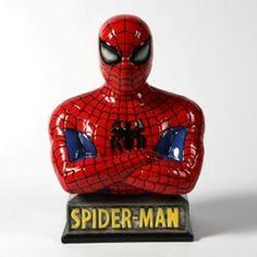 Ceramic Spiderman Bank