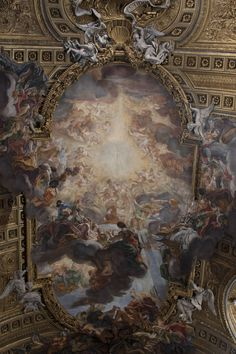 There are ceilings and then there are ceilings. Gesu Church - Rome, Italy