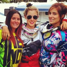 Laurie LaForest. Motocross girls.