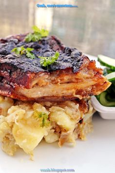 Hungarian Recipes, Salmon Burgers, Grilling, Bacon, Dinner Recipes, Pork, Food And Drink, Chicken, Ethnic Recipes