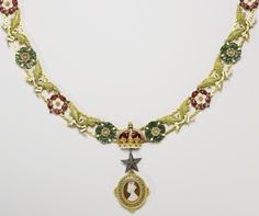 Collar of the Order of the Star in India, designed... - Long Live Royalty